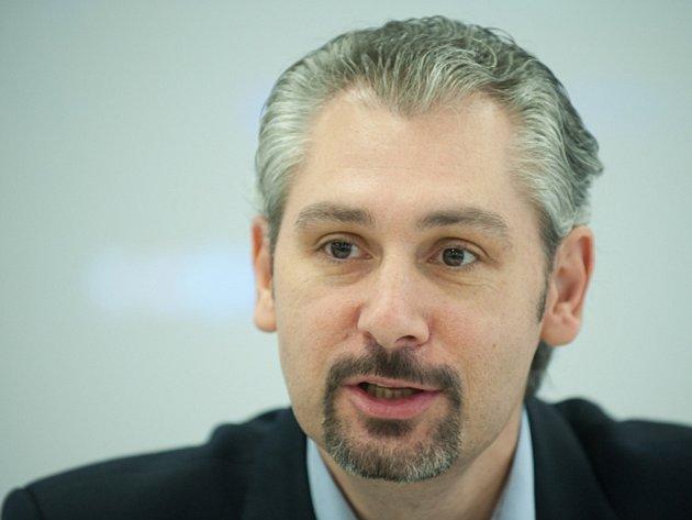 Prezident České florbalové unie Filip Šuman.