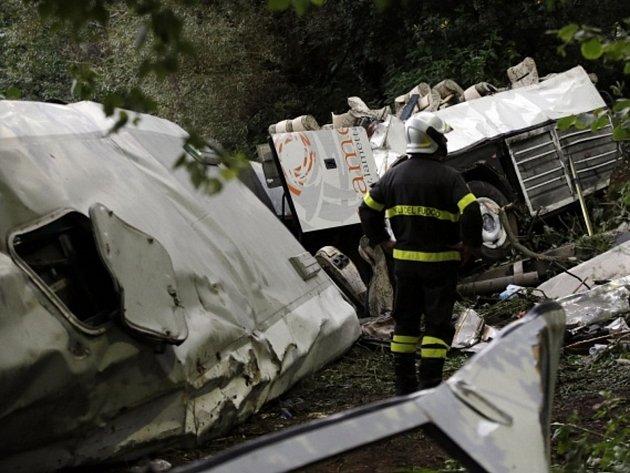 Tragická nehoda autobusu v Itálii.