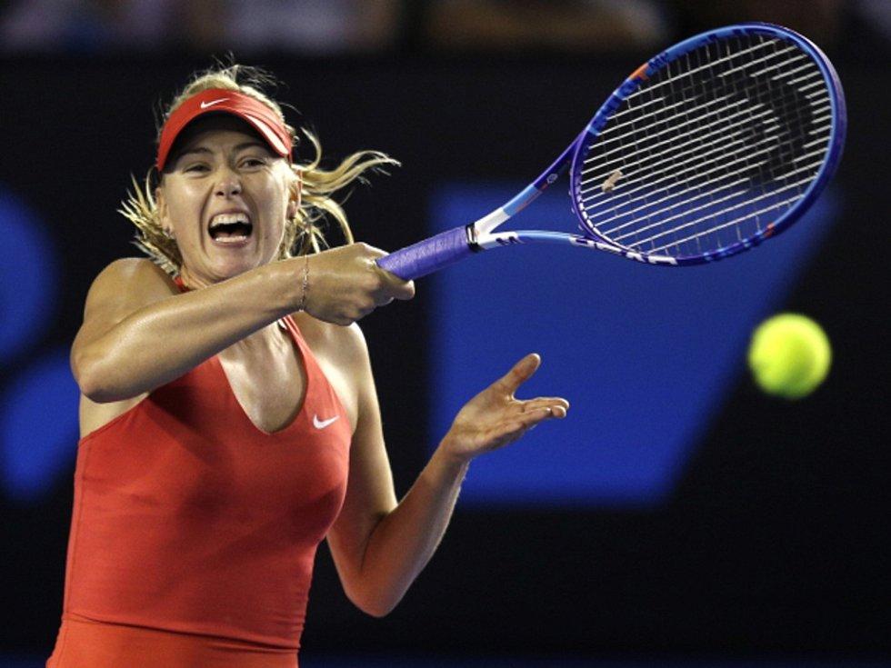 Maria Šarapovová na Australian Open.