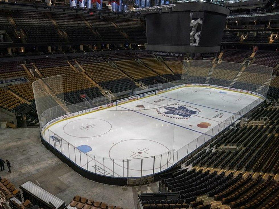 Stadion hokejistů Toronta.