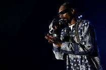 Americký raper Snoop Dogg vystoupil 11. července v pražské Sazka Areně.
