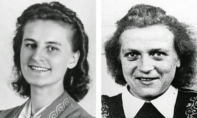 Lisolotte Meirer (vlevo) a Johanna Altvater