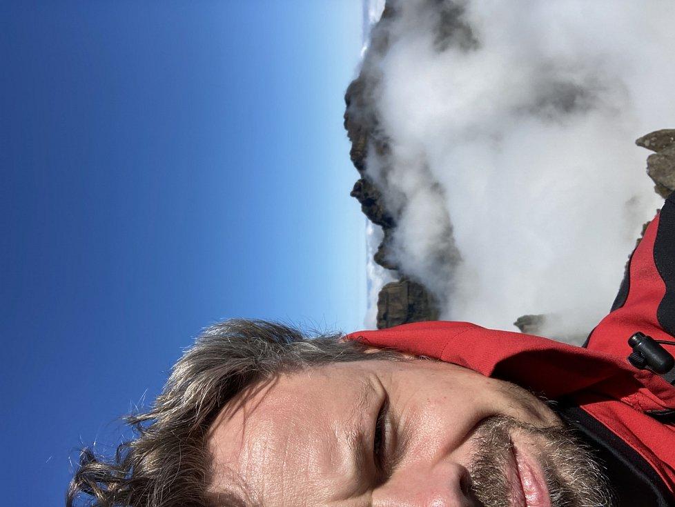 Viktor Dvořák na Madeiře