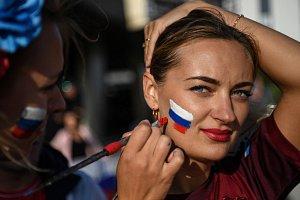Fanynky, skupina A, fotbalové MS Rusko 20018