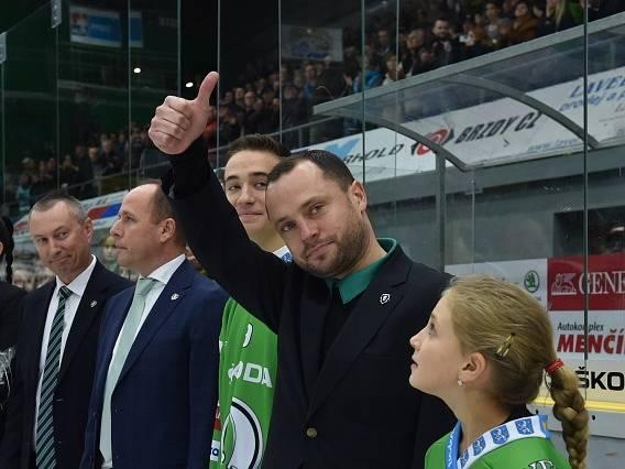 David Výborný se před zápasem Mladé Boleslavi se Spartou rozloučil se svou bohatou hráčskou kariérou.