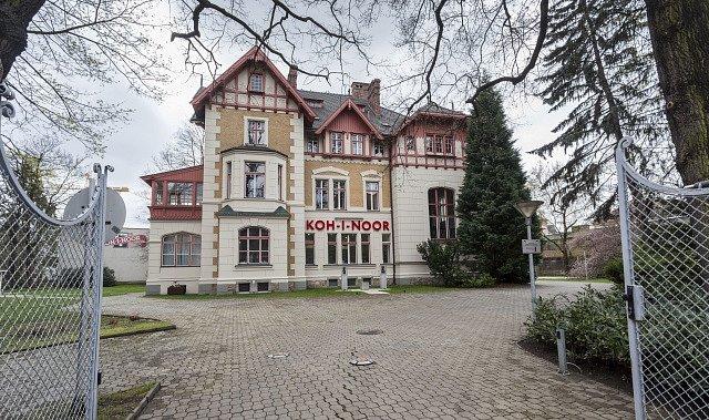 Sídlo Koh-i-noor v Českých Budějovicích