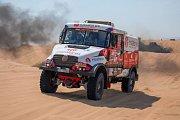 Karel Loprais na Rallye Dakar 2018.
