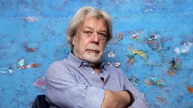 Herec a malíř Jan Kanyza.