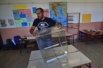 Zadlužené Řecko se chystá v neděli již k druhým předčasným volbám v letošním roce.