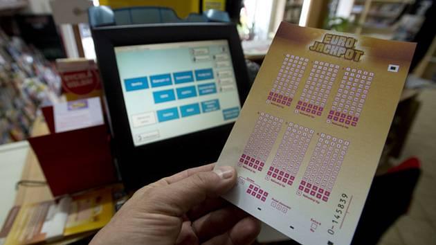 Loterie Eurojackpot. Ilustrační snímek