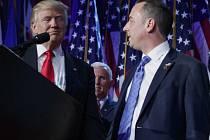 Nově zvolený americký prezident Donald Trump si vybral do funkce personálního šéfa Bílého domu předsedu Národního výboru Republikánské strany Reinceho Priebuse.