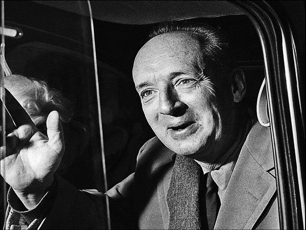 Spisovatel Vladimir Nabokov (1899 – 1977) v roce 1959 v Římě.
