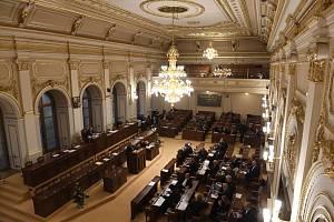 Schůze Sněmovny. Ilustrační snímek
