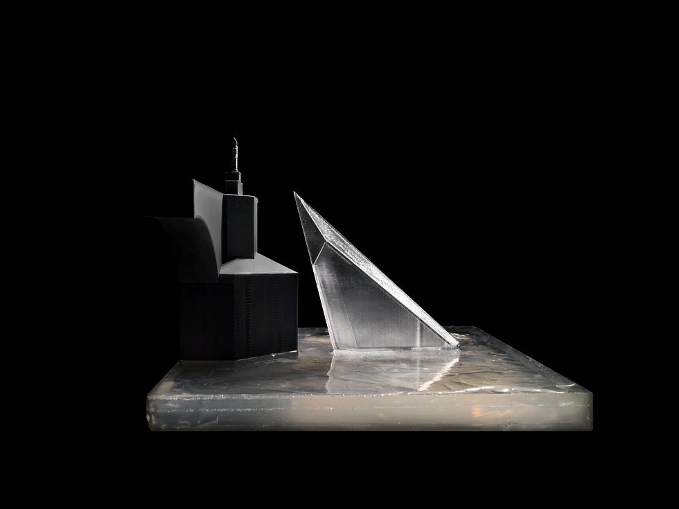 Model Kaple sv. Jana Nepomuckého