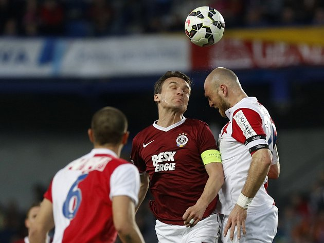 Sparta - Slavia: David Lafata a Martin Latka