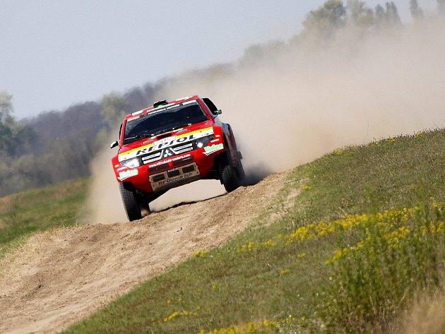 Úvodní etapa Středoevropské rallye.