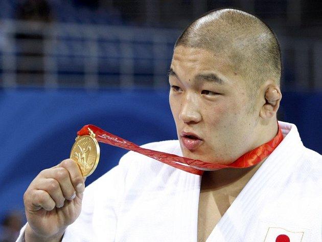Japonský reprezentant v judo Satoši Išii.