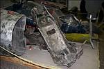Trosky sestřeleného amerického špionážního letadla U-2