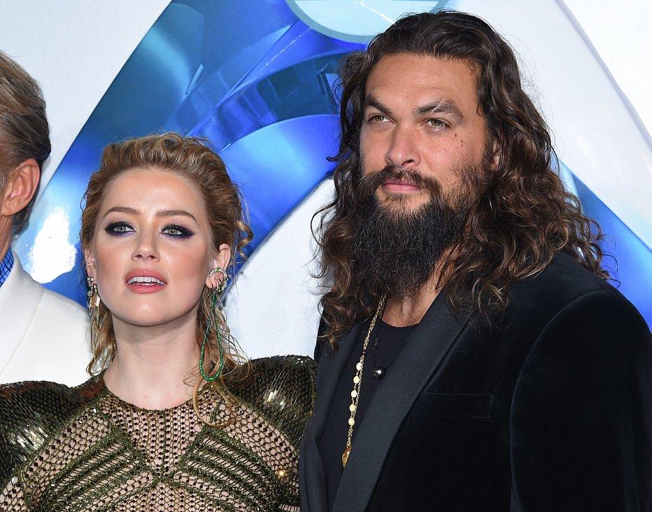 Americká herečka Amber Heardová na premiéře snímku Aquaman