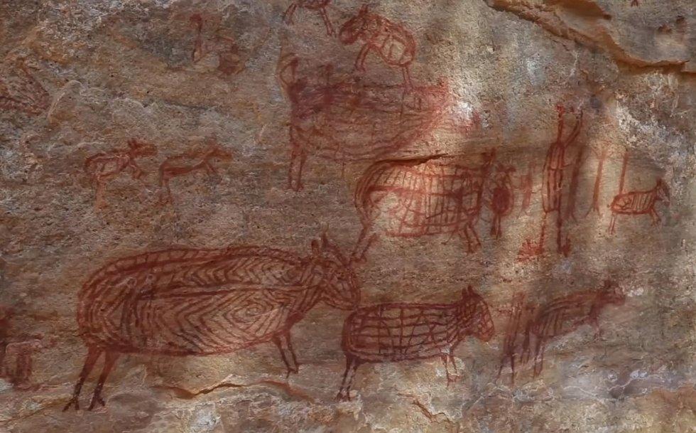 Paleolitický člověk uměl zachytit realisticky zvířata, s nimiž se setkával
