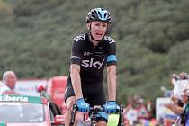 Chris Froome na Vueltě.
