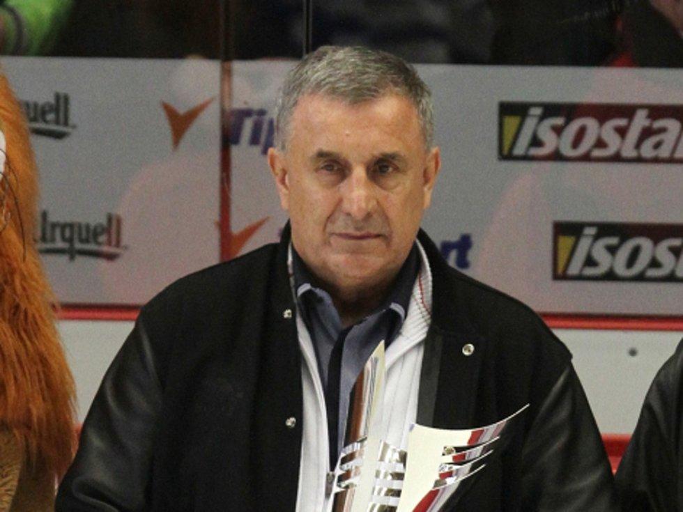 Bývalý reprezentant Jaroslav Pouzar.