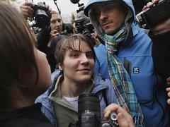 Jekatěrina Samucevičová po svém propuštění