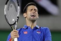 Tenista Novak Djokovič vypadl hned v prvním kole olympijského turnaje.