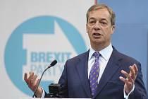 Britský europoslanec Nigel Farage
