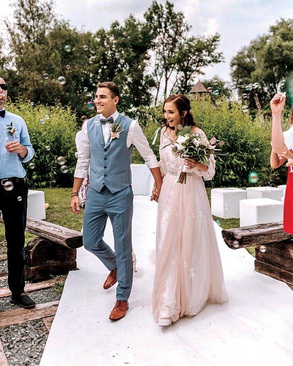 S dlouholetou partnerkou Nikolou se vzali loni v červenci.