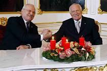 Ivan Gašparovič a Václav Klaus