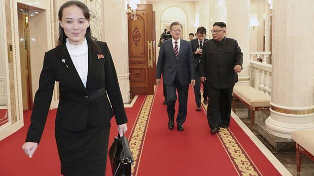 Jo-čong s korejskými lídry