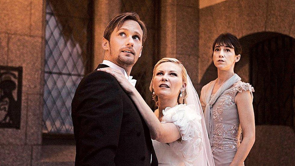 S Kirsten Dunst ve snímku Larse von Triera Melancholia (2011).