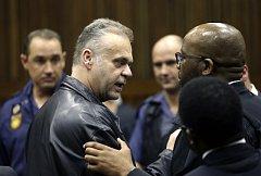 Radovan Krejčíř u soudu v Johannesburgu