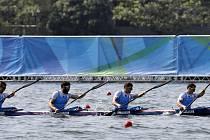 Český čtyřkajak na olympijských hrách