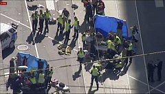 V Melbourne vjelo letadlo auto do davu.