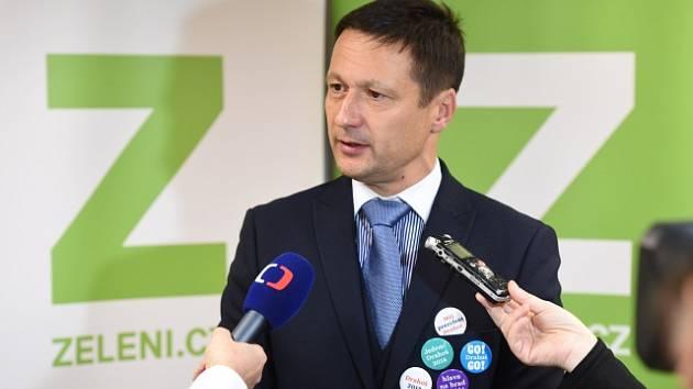 Předseda Strany zelených Petr Štěpánek.