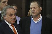 Harwey Weinstein se svým právníkem Benem Brafmanem