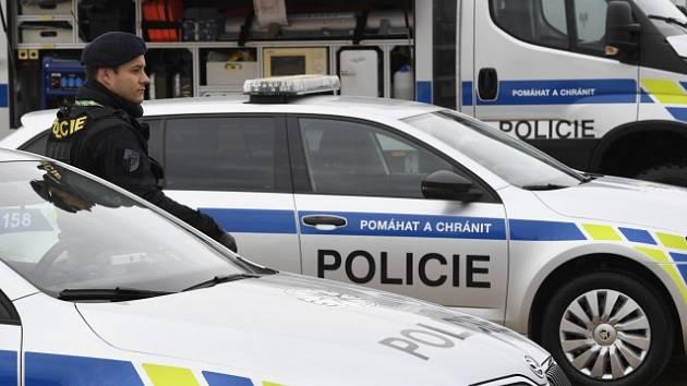 Policejní zásah - Ilustrační foto