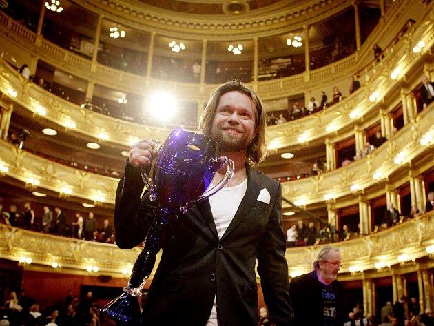V Národním divadle v Praze byly v sobotu 23. března 2013 předány ceny Thálie za mimořádné jevištní výkony předvedené v roce 2012.