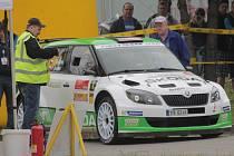 Jan Kopecký na Rallye Český Krumlov.