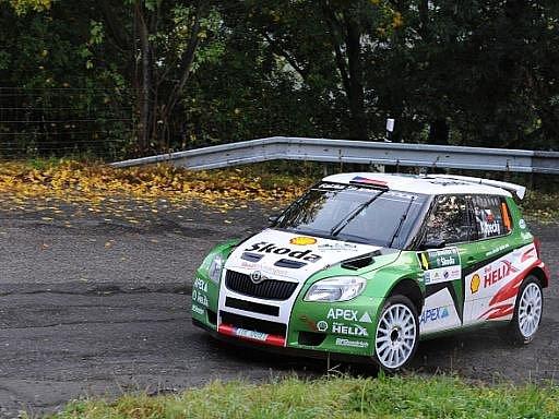 Jan Kopecký se Škodou Fabia S2000