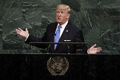 Trump poprvé vystoupil na půdě OSN