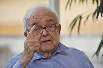 Publicista a filmový kritik Antonín Jaroslav Liehm (na snímku z 21. května 2014)