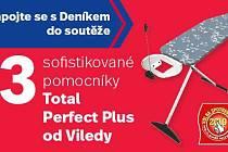 Zapojte se sDeníkem do soutěže o 3 sofistikované pomocníkyTotal Perfect Plus od Viledy