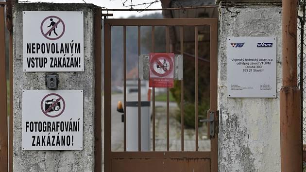 Areál muničního skladu ve Vrběticích