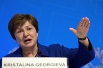 Generální ředitelka Mezinárodního měnového fondu Kristalina Georgievová.