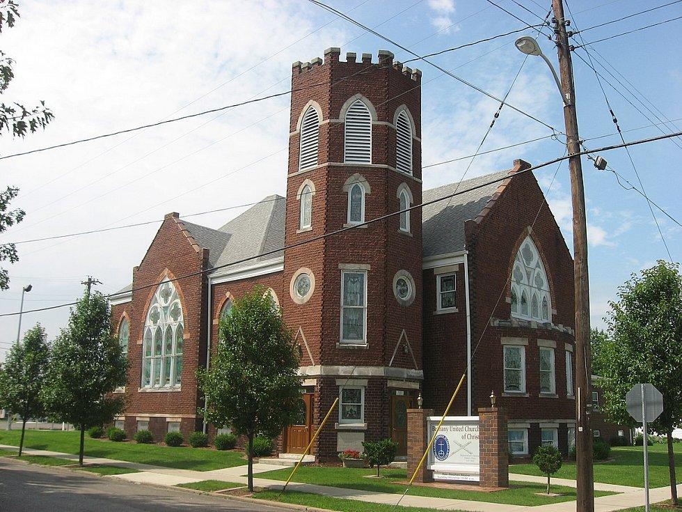 Kostel z roku 1909 ve West Terre Haute ve své dnešní podobě