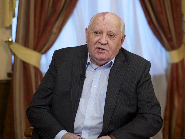 BÝVALÝ SOVĚTSKÝ VŮDCE Michail Gorbačov.
