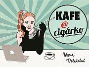 kniha blogů z filmového a divadelního zákulisí Kafe a cigárko.